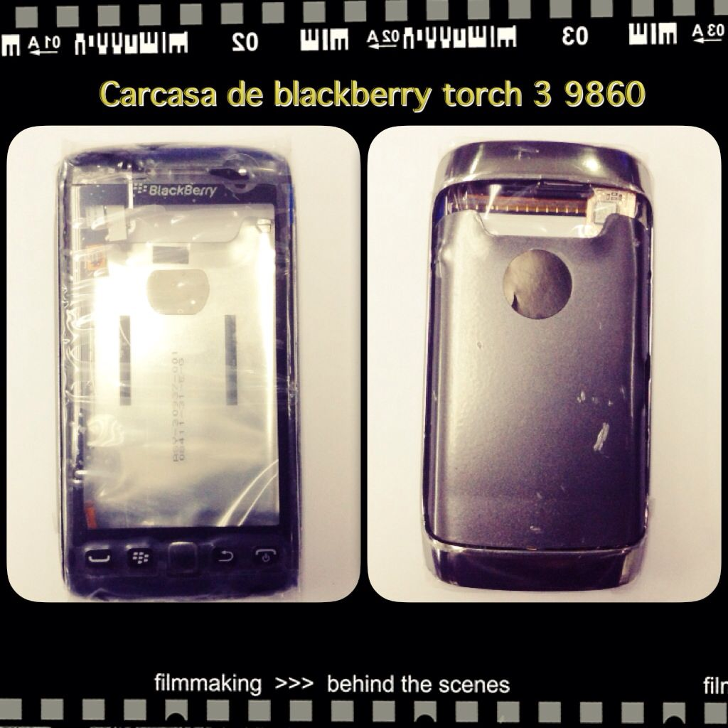 Carcasa de blackberry 9860