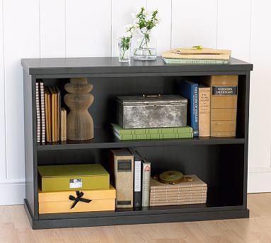 Bedford 2 Shelf Bookcase Black