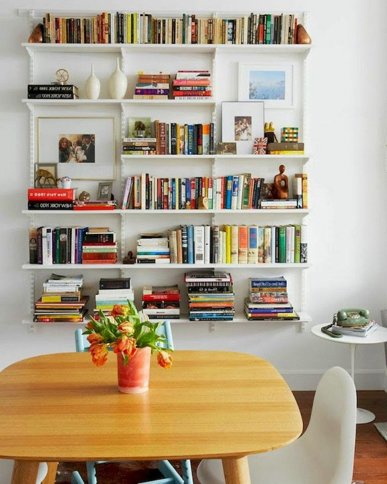 45 Amazing Scandinavian Ideas For Your Home Library In 2020 Bookshelf Design Home Cozy Home Library