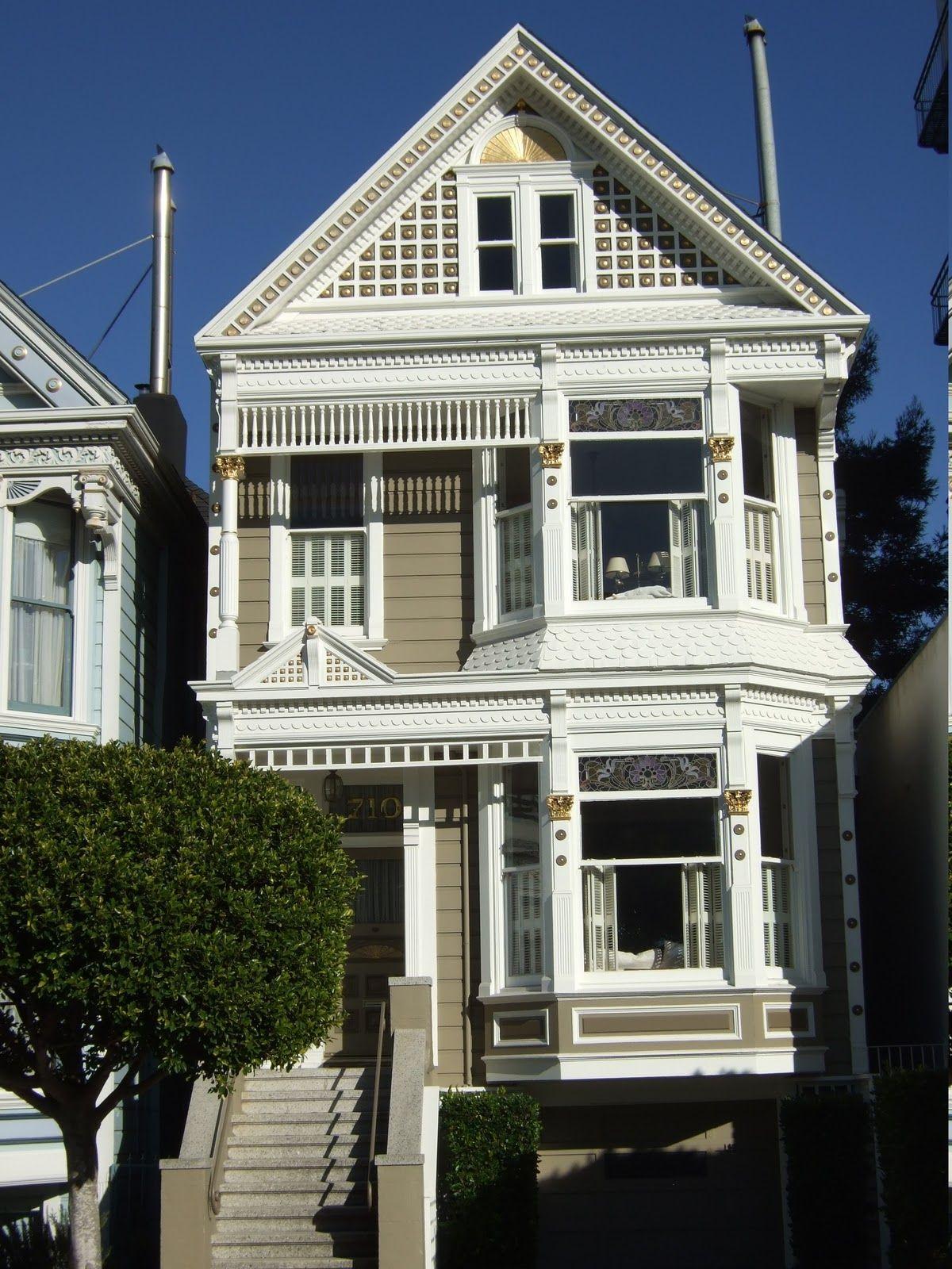 San Francisco Victorian home Tough is not enough