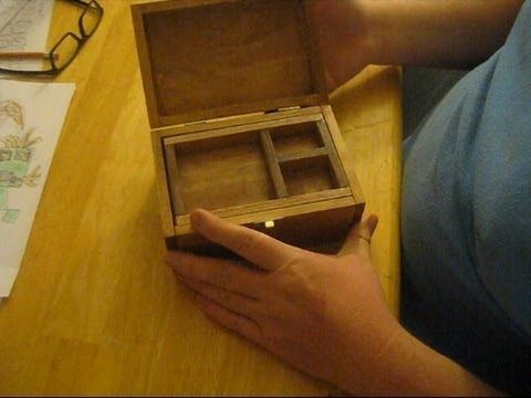 How To Make A Wooden Jewelry Box Delectable Make Your Own Small Wooden Jewelry Box Youtube  Woodwork Stuff Design Ideas