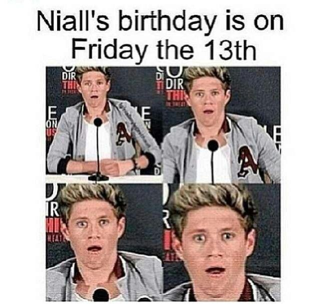 And his birthday is 4 days before mine! I turn fourteen on September 17 :D