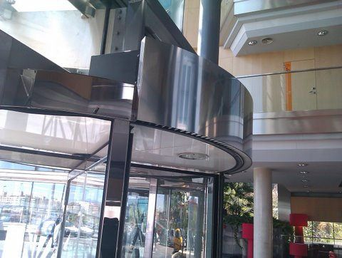 Revolving Door Air Curtains Cortinas De Aire Hoteles Cortinas