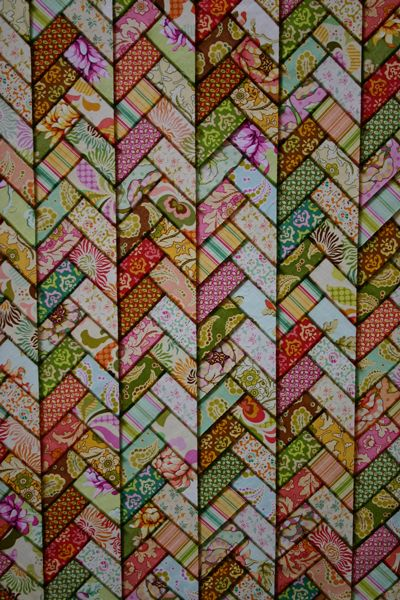 Braid Quilt Stained Glass Interesting I M Not Sure I