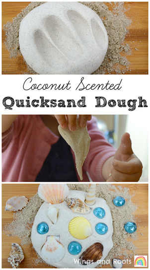 how to make quicksand at home