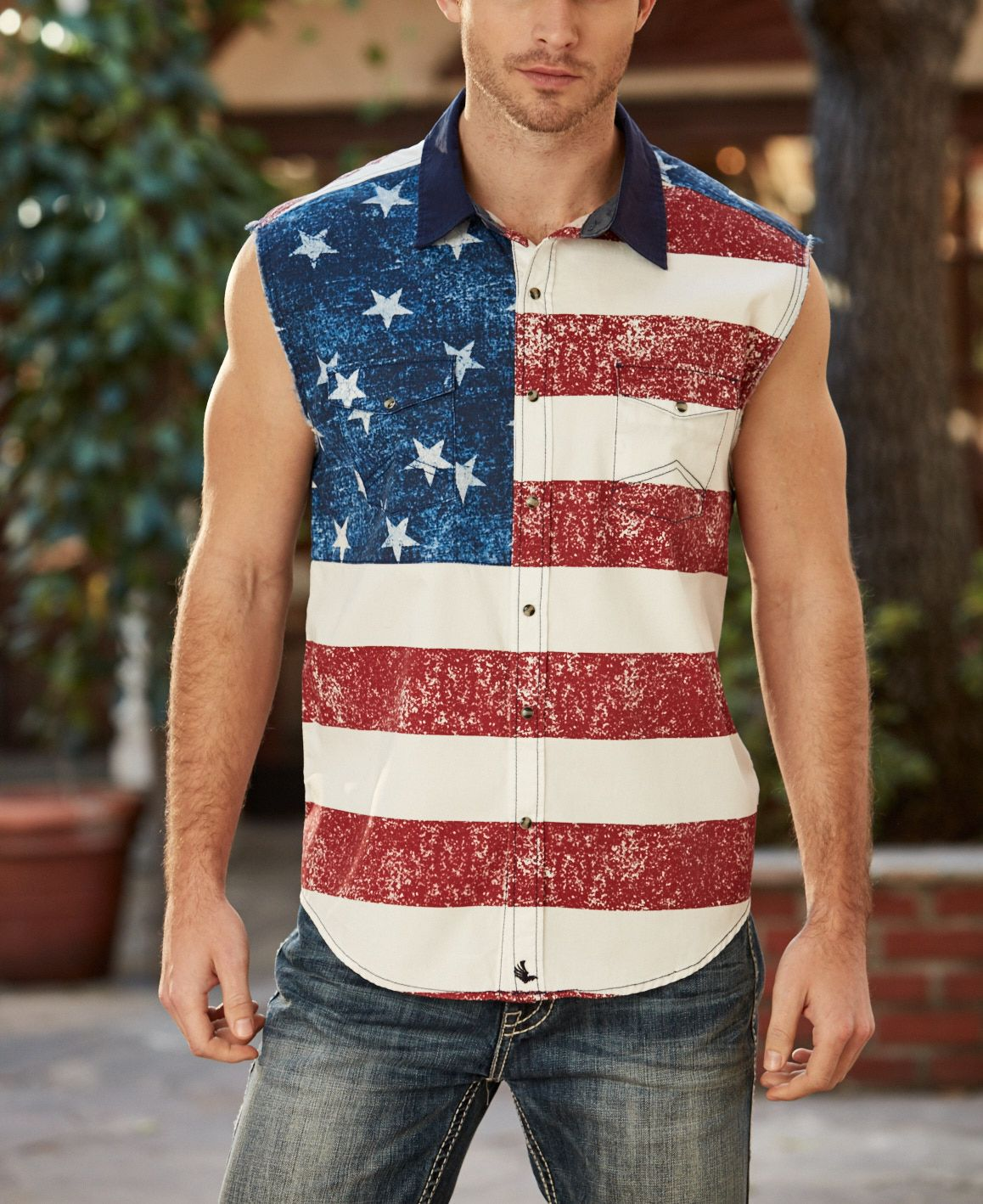 2d1a65d17bbca American Flag Tank by Cody James available at Boot Barn. This is a country  concert must-have!