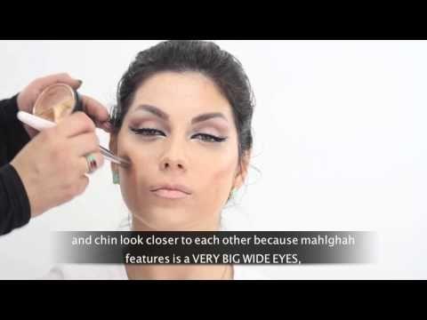 Mahlagha Jaberi Inspired Makeup By Hanan Alnajadah مه لقا جابري راهي جابر حنان النجادة Youtube