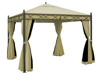 10x10 Ft Garden Treasures Gazebo Hg Replacement Canopy Gazebo Replacement Canopy Pergola Canopy Gazebo
