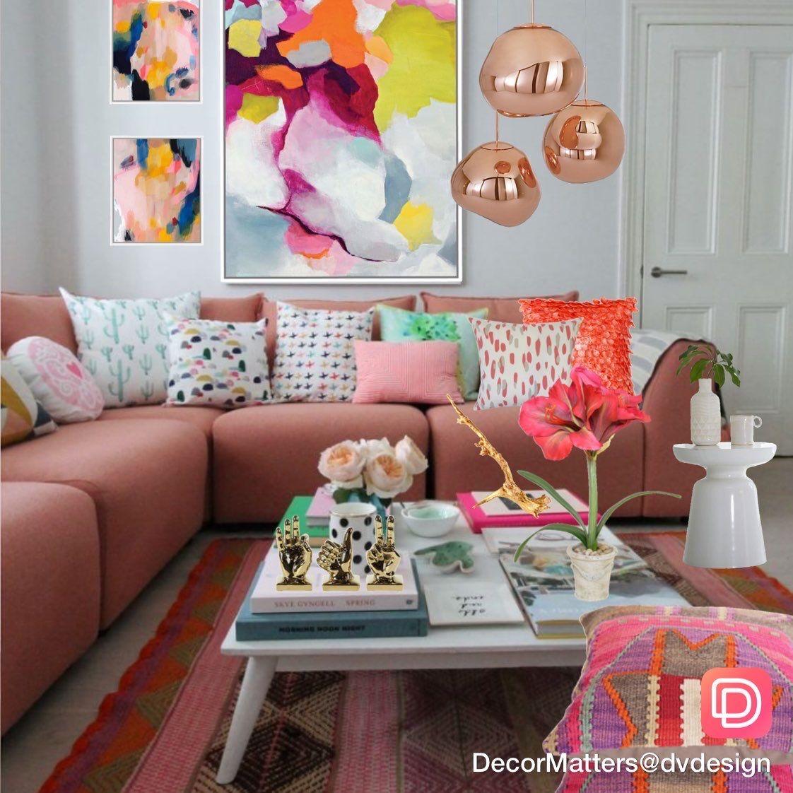 Interior Design Colors Living Room Design Colorful Inte