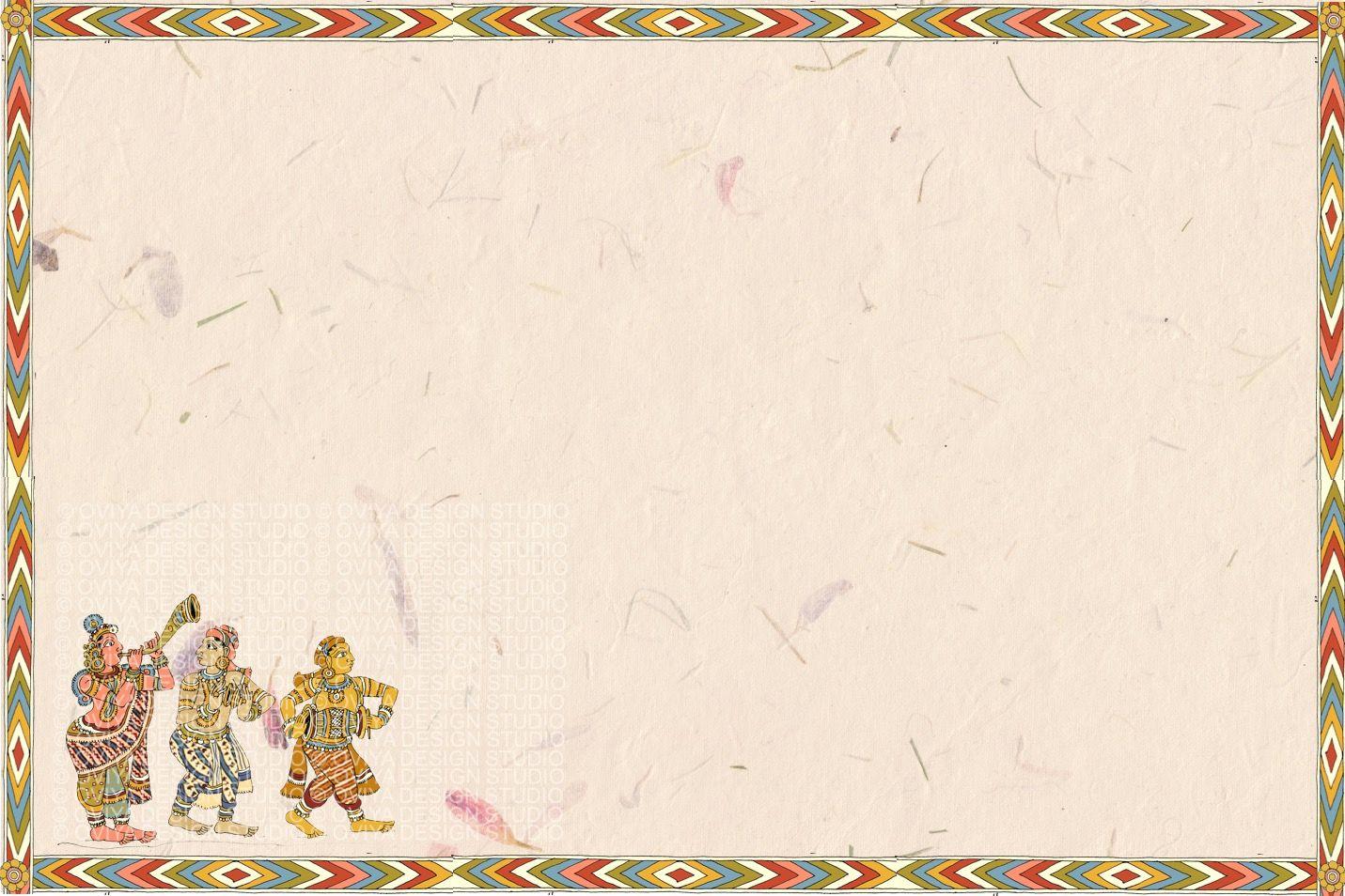 Kalamkari inspired South Indian Wedding Guestbook sample page ...