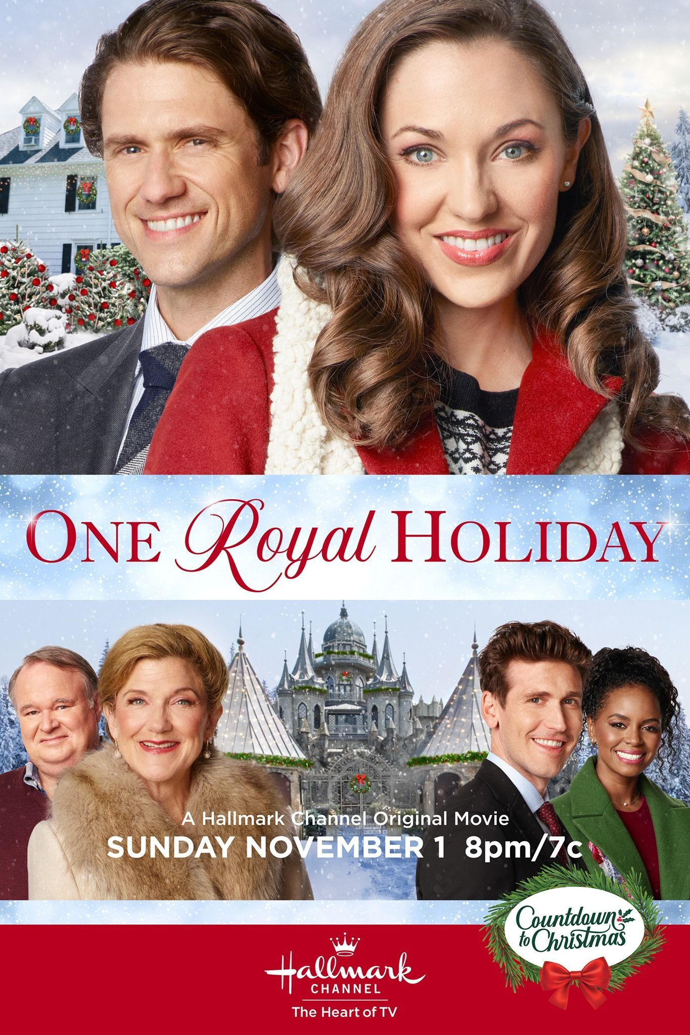 Mark Your Calendars For The All New Hallmark Channel Original Premiere Of One Royal Holiday In 2020 Hallmark Channel Christmas Movies Hallmark Christmas Movies Movies