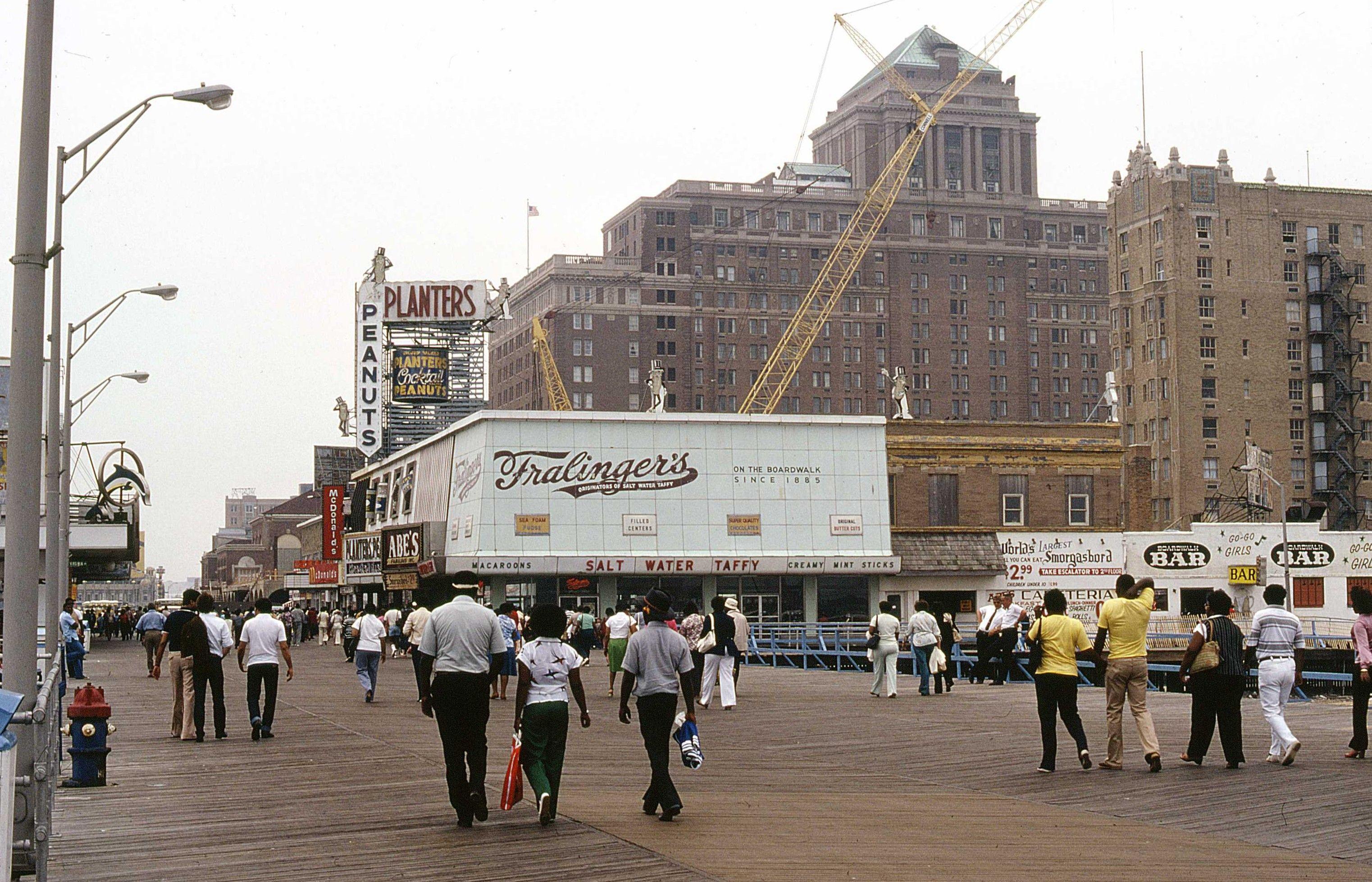 Boardwalk 1980 Atlantic City Atlantic City Boardwalk Seaside Hotel