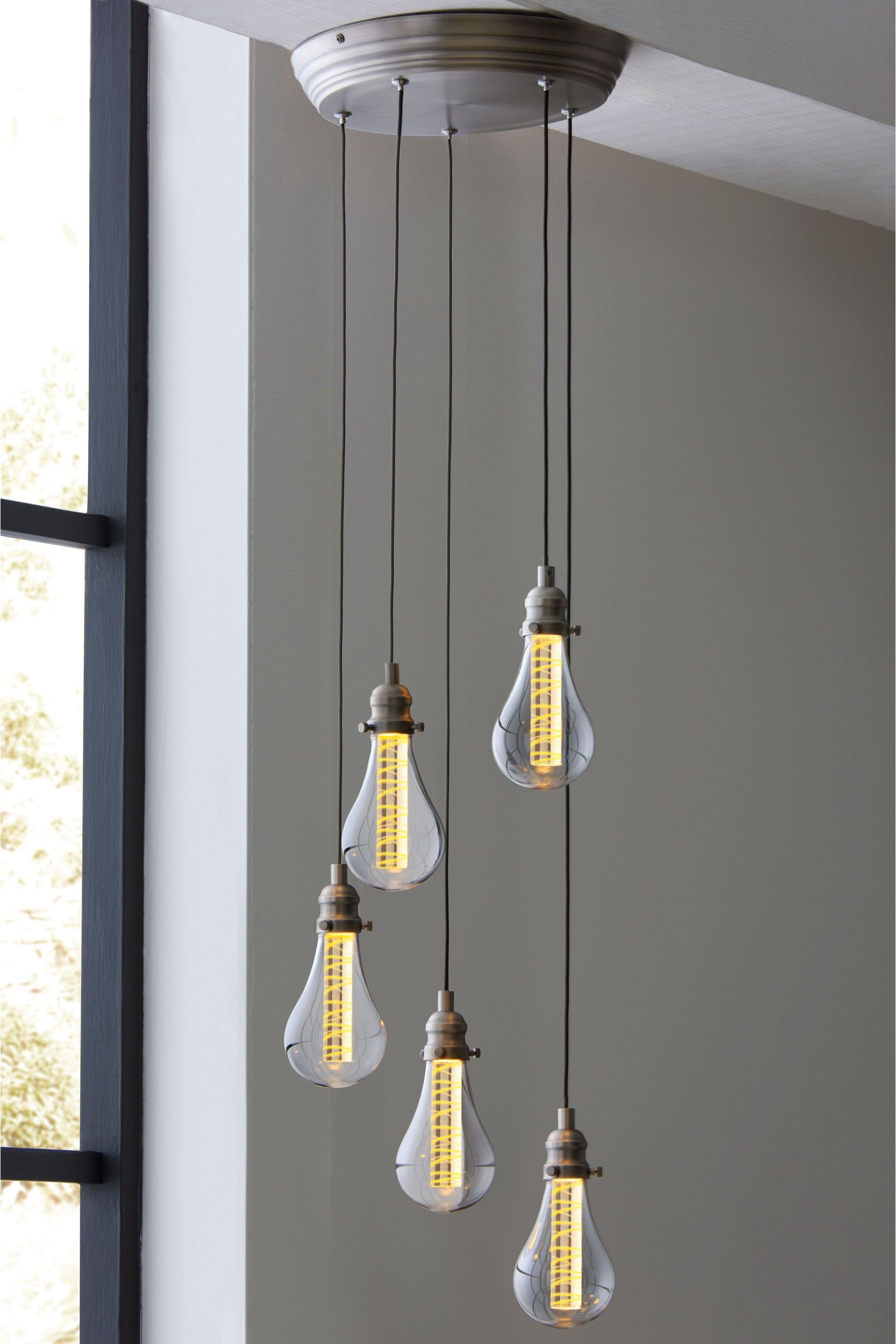 785a07de9d29 Next Staten LED 5 Light Cluster Pendant - Pewter in 2019   Products ...