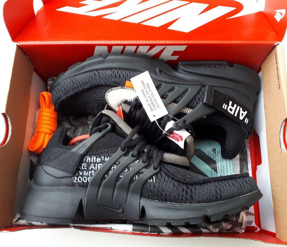 wholesale dealer bf9ce ff3f8 Nike x OFF-WHITE Air Presto Black - Size 8.5 UK   EU 43   US 9.5 -  AA3830-002  fashion  clothing  shoes  accessories  mensshoes  athleticshoes  (ebay link)