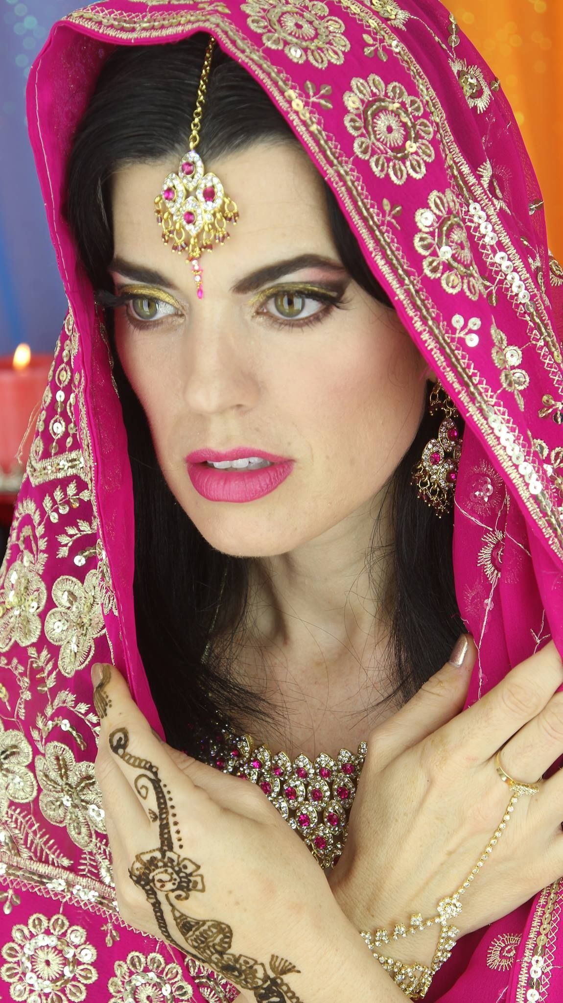 Watch how I created this beautiful Indian Bridal Makeup