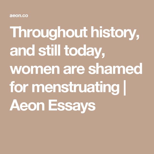 aeon essays