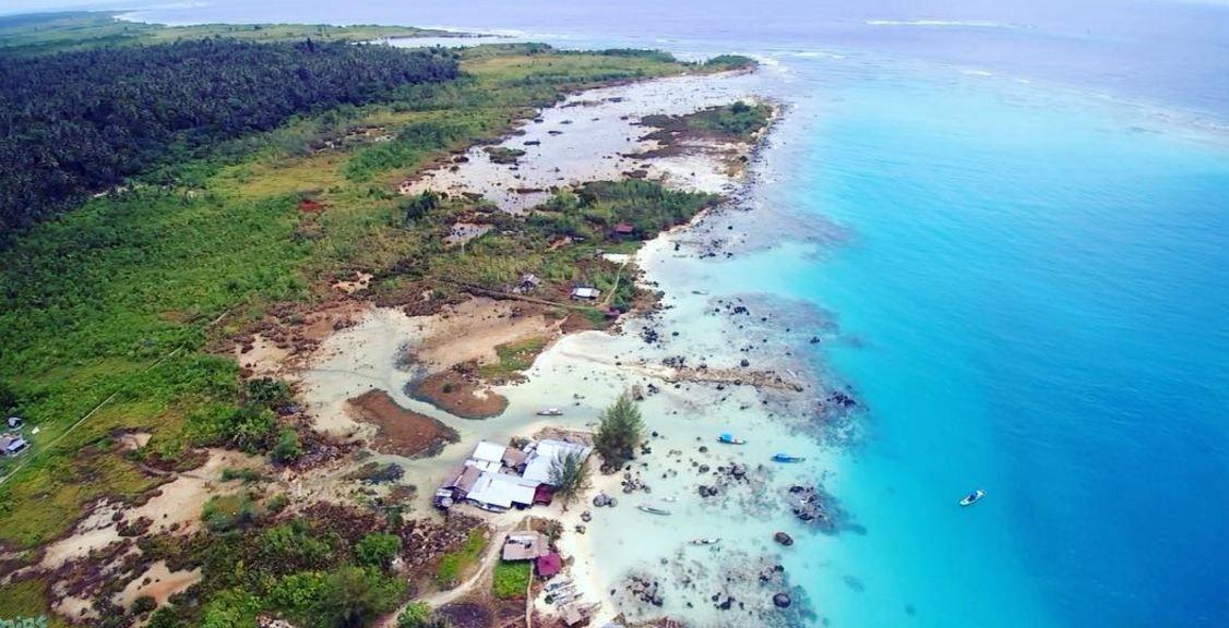 Pantai Tureloto Sudut Eksotis Di Nias Sumatera Utara Sumatera Utara Pantai Lautan Tempat