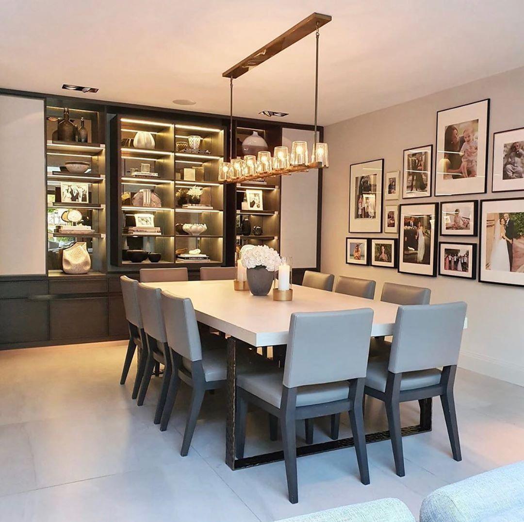 "Interior Design ▪️ Home Decor on Instagram: ""Follow @olla_home for more inspiration❤️ Design: @rachelwinhaminteriordesign . . . . .  #diningroom #diningroomdecor #diningroomdesign…"""