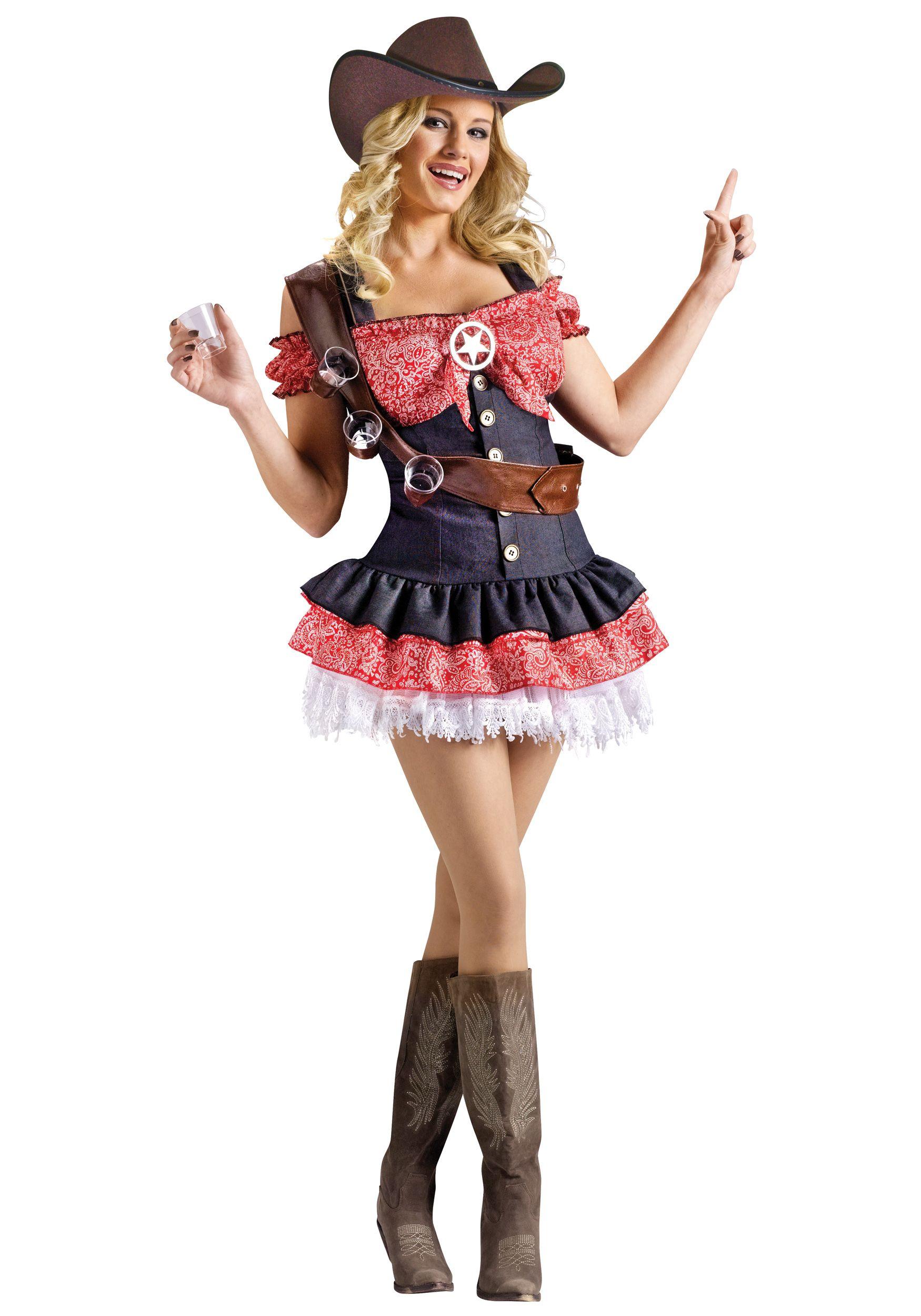 8d9f9b3f2a6eb Sexy Shotgun Sheriff Costume | Halloween | Cowgirl costume, Sheriff ...