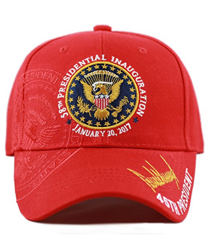 f75fcc3731d New Hat! Exclusive 45th Presidential, 58th Inauguration Signature (Red)