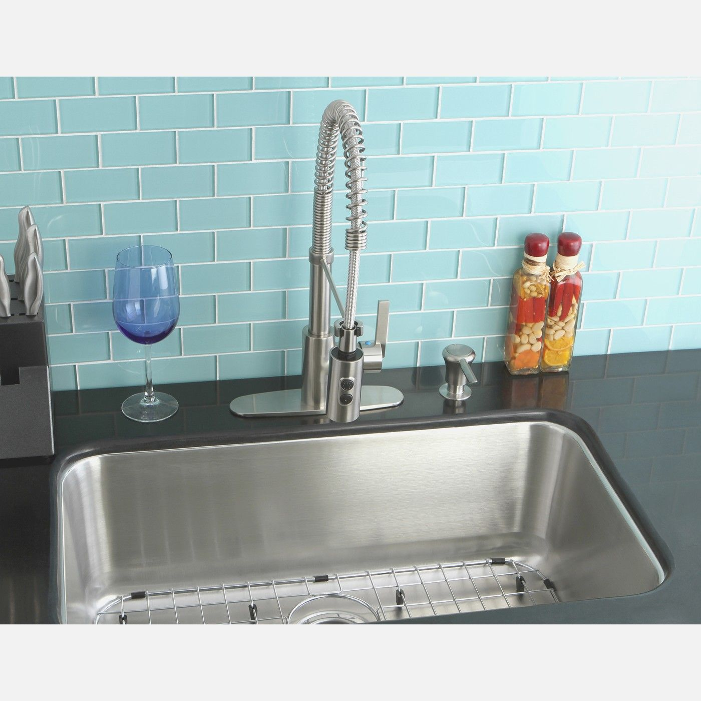 Undermount Single Bowl Kitchen Sink - 30 inch undermount single bowl ...