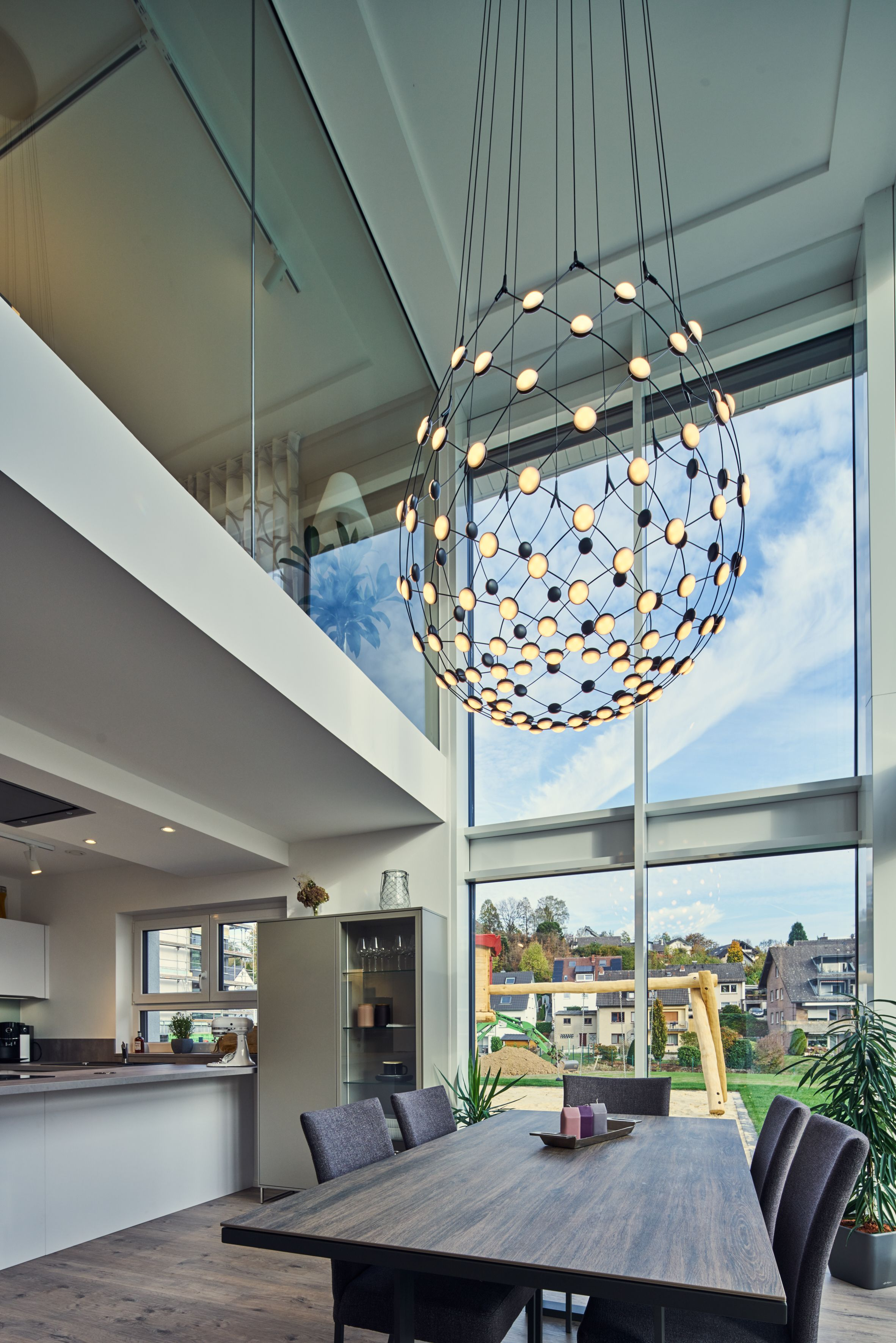 Essbereich Luftraum Minimalistisches Haus Haus Scheunenhaus