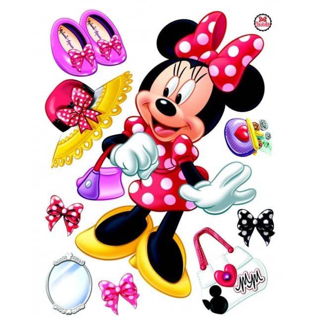 stickers g ant minnie mouse disneyth me la boutique de. Black Bedroom Furniture Sets. Home Design Ideas