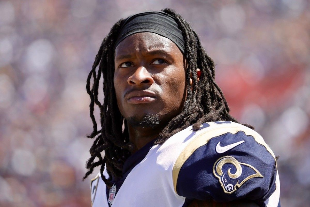 Nfl Superstar Todd Gurley On Dodging Defenders Life In La And Super Bowl Ambitions Todd Gurley Indianapolis Colts Workout