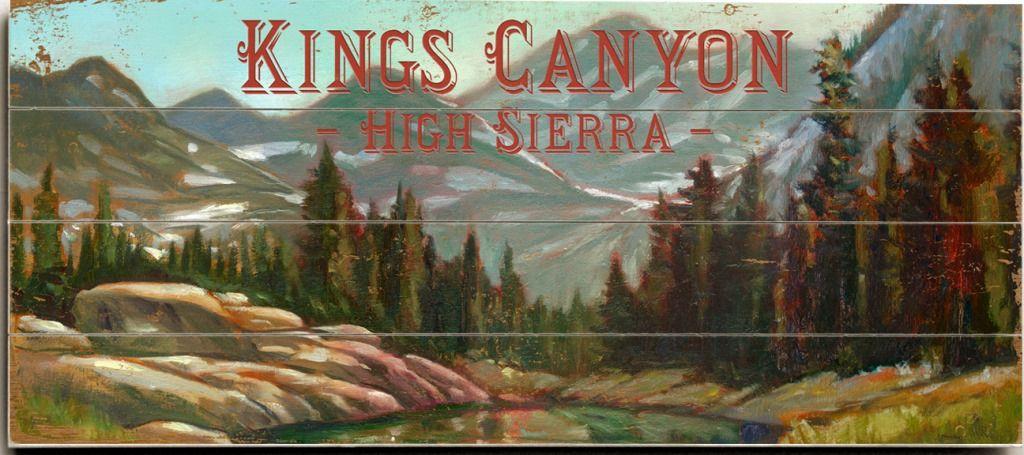 Sierra Glow Custom Sign: Custom Vintage Signs