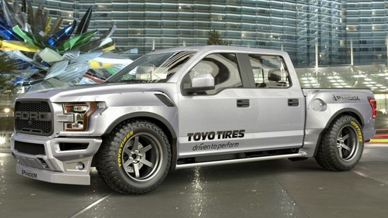 This Jdm Style Rocket Bunny Ford Raptor Is Deeply Disturbing