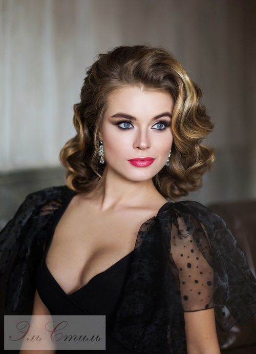 Bridal short hairstyles gallery. Professional Elstyle artists ...