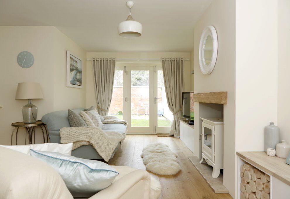 Cream Bedroom Decor: Coastal Lounge With Duck Egg And Cream #loaf Sofas And Love Seat