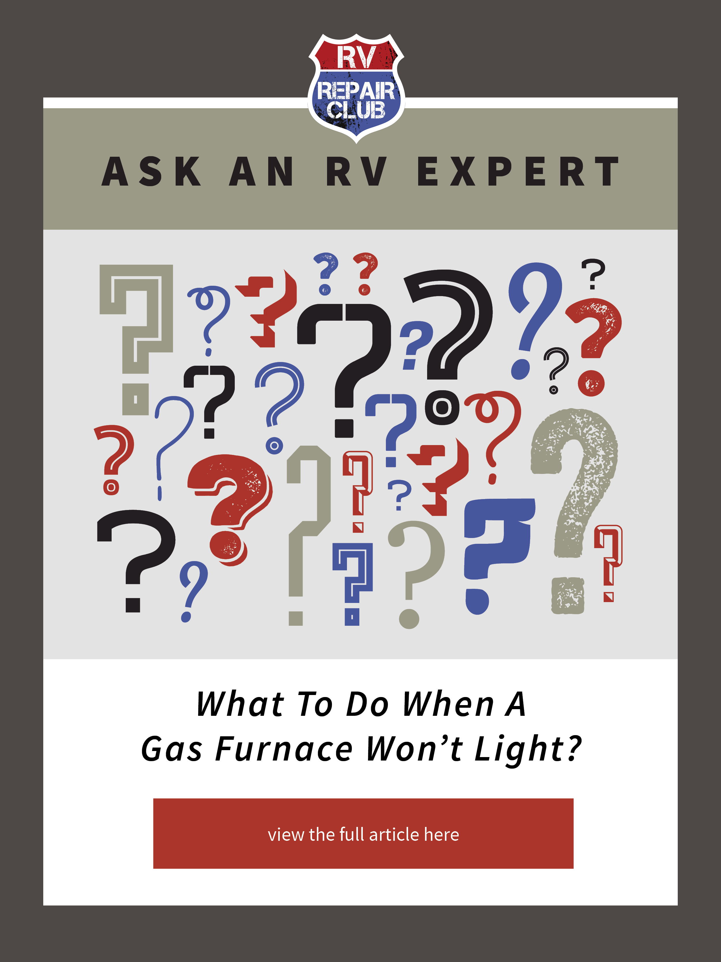 What To Do When A Gas Furnace Won T Light With Images Camping Checklist Rv Camping Checklist Rv Repair