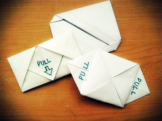 Different Styles Of Letter Folding  Origami Craft And Snail