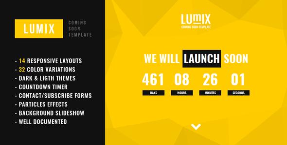 lumix responsive under construction template http themekeeper