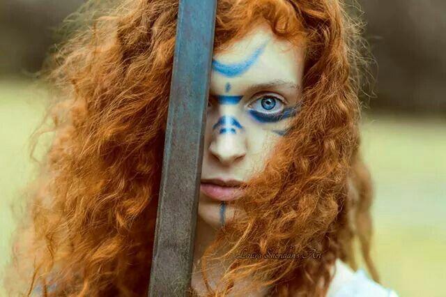 Badb (Irish) - A shape-shifting, warrior goddess who symbolizes life and death, wisdom and inspiration. She is an aspect of Morrigan. [Princess Rohna woman By Laura Sheridan LINK to Photographer: https://www.flickr.com/photos/laurasheridan/15096466385/]