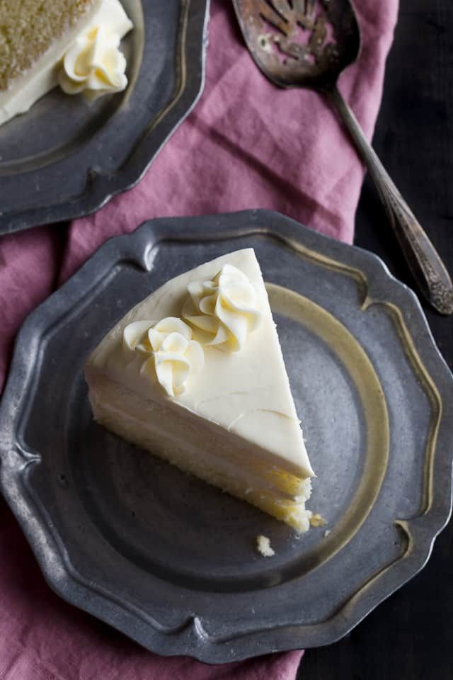Recipes for vanilla cake made from scratch