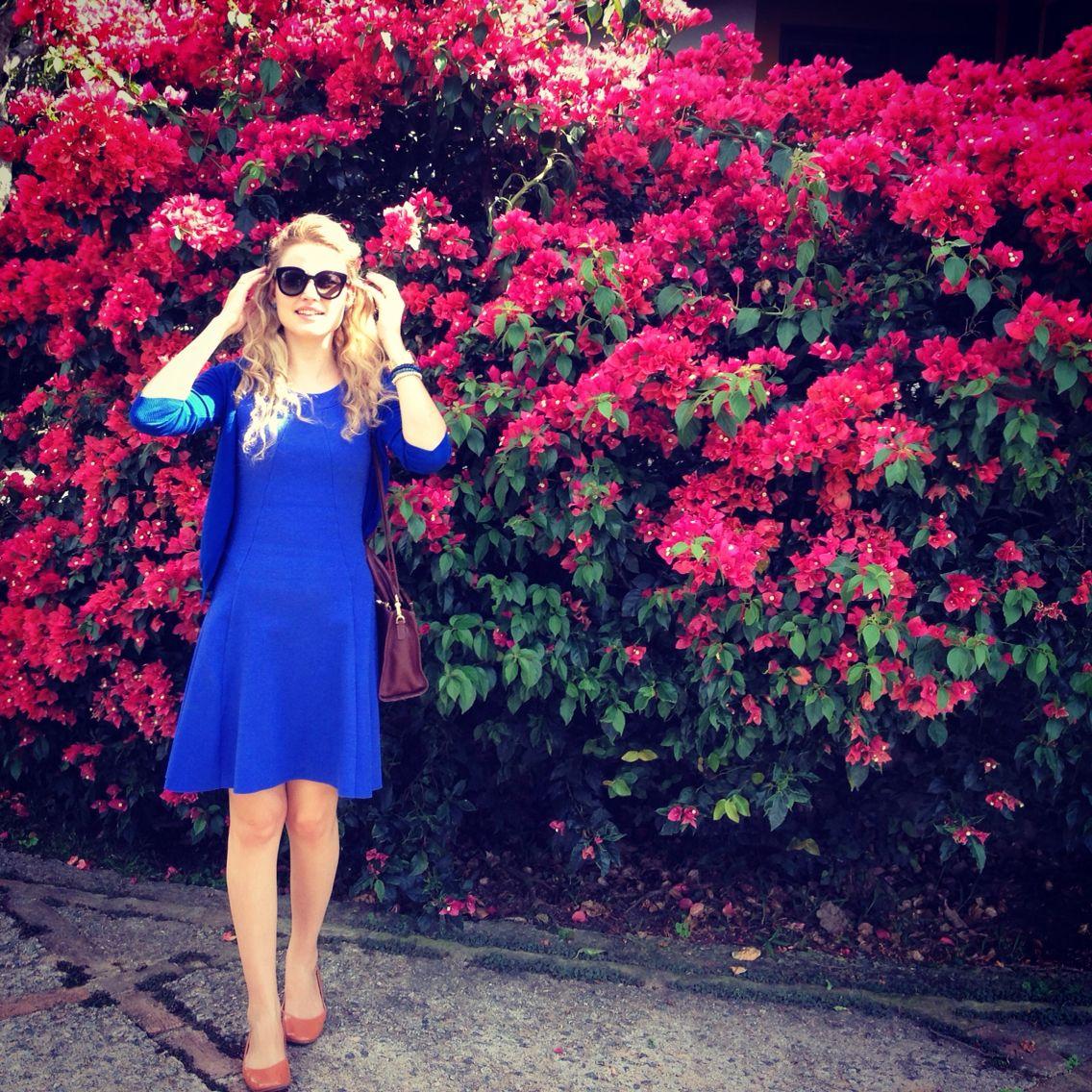 Wearing Blue