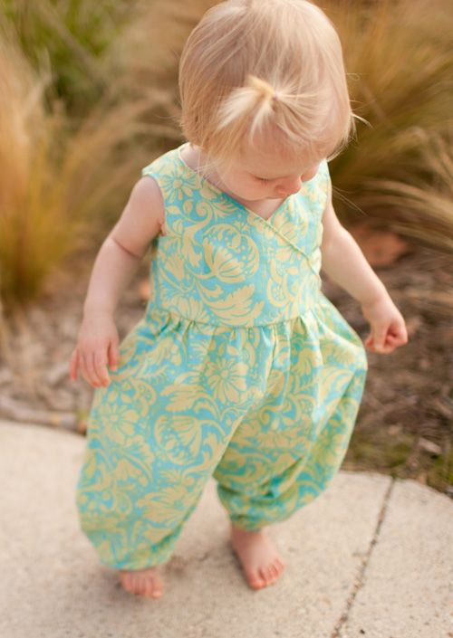 Just what I was looking for! A cute long pant romper. Cannot wait to ...