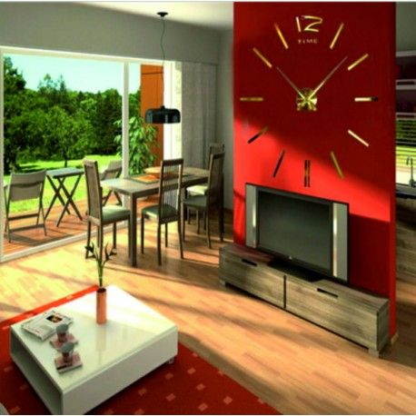 Pin von Fullhouse auf Wanduhren Pinterest Stilvolle Uhren - moderne wohnzimmer uhren