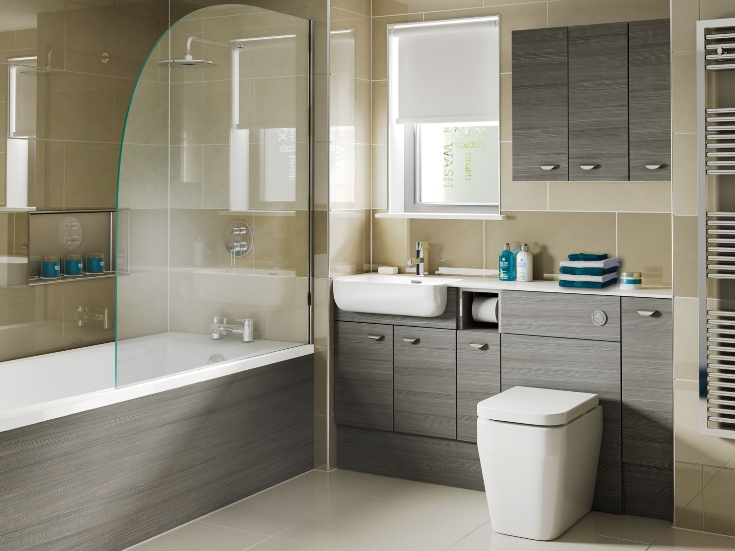 Similar Basin Counter To Ground Floor Cloakroom Eco