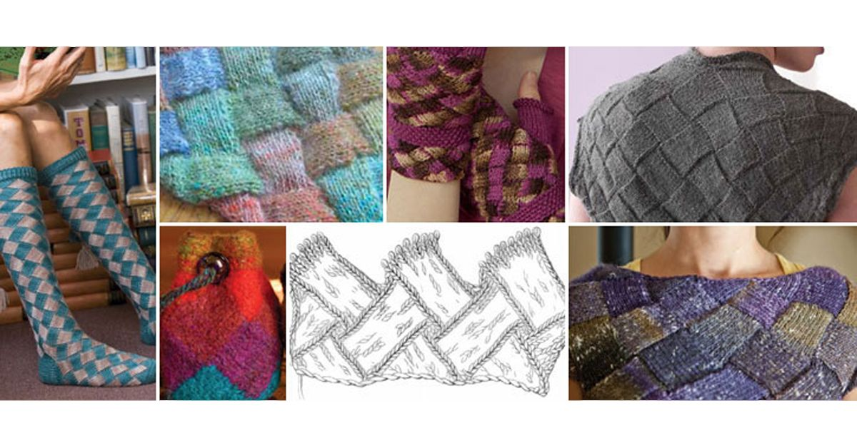 Free Knitting Patterns You Have to Knit | Entrelac ...
