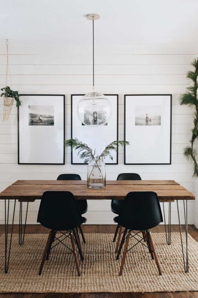 Inspiring dining room tables and chairs for the most social space in the house. dining room lamps i
