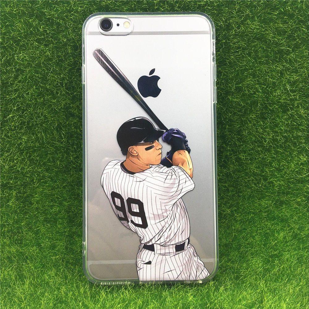 online store 2d53d fea2c Details about iPhone 6/7/8 Plus 5/5s/SE MLB Player #99 Aaron Judge ...