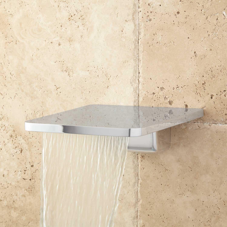 Knox Waterfall Tub Spout Bath Tub Faucet Tub