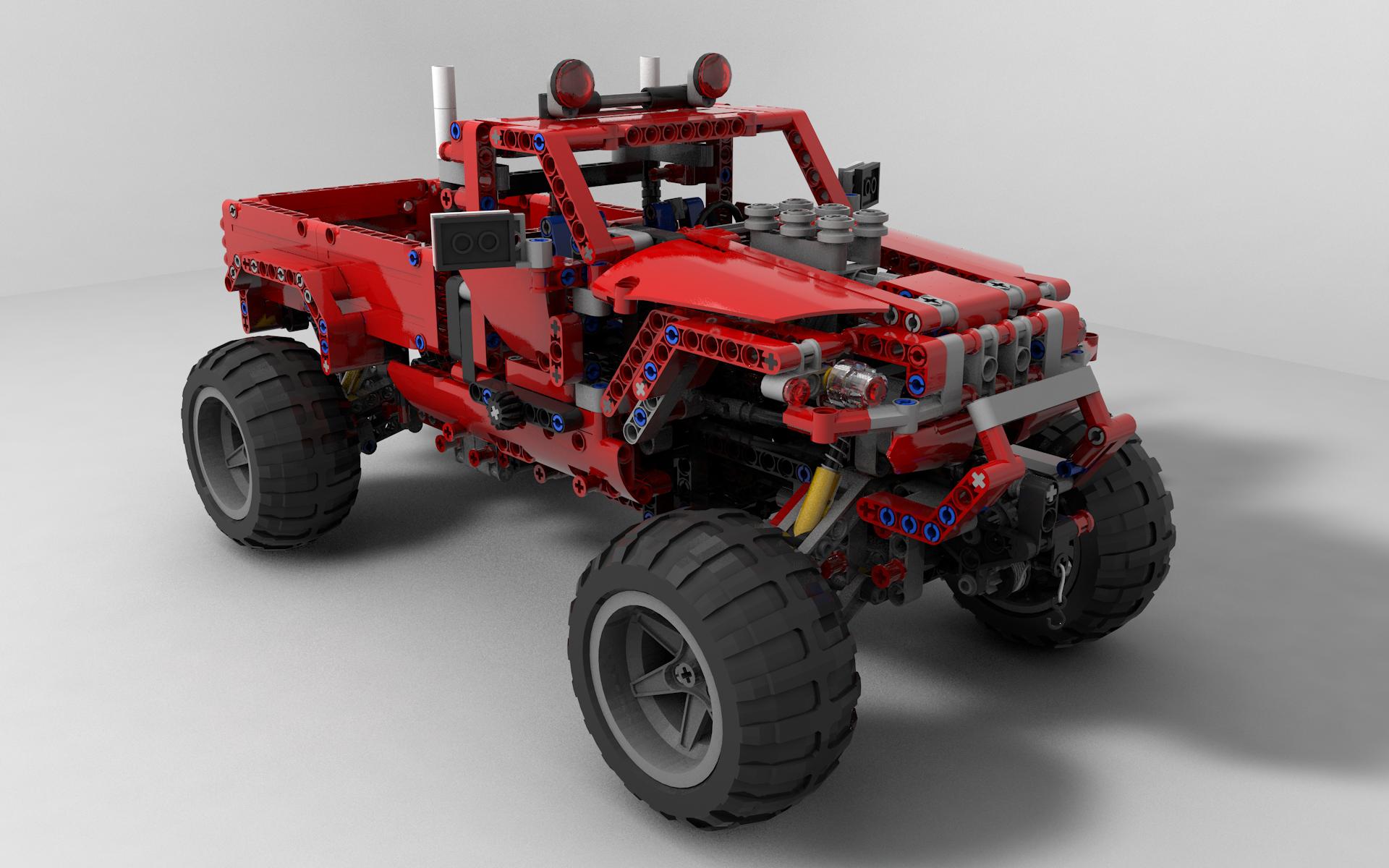 Lego Jeep Pikap