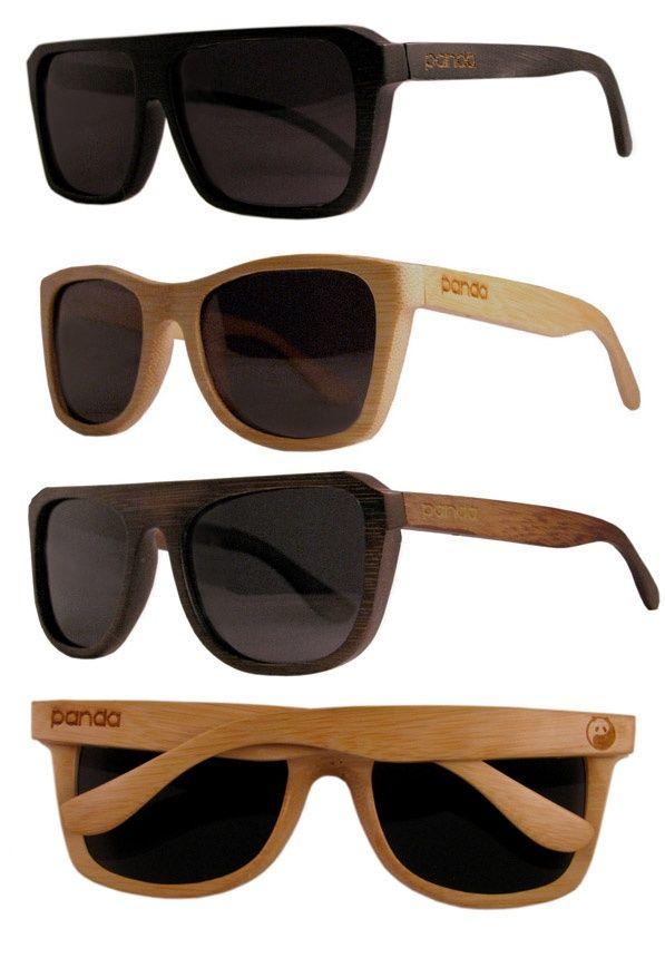 07a8ccf182 Panda  ecofriendly handmade bamboo sunglasses