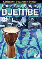 Ultimate Beginner Series: Have Fun Playing Hand Drums: Djembe - DVD by Alfred. $17.69. This unique series is designed to show the beginning hand drummer a fun and creative approach to playing immediately. In Step One, Brad Dutz covers how to develop a good sense of the beat, how to produce drum tones, and how to play a rhythm. Step Two presents in-depth instructions on the proper techniques for producing a variety of tones and sounds. In addition to presenting exercises to...