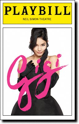Gigi Playbill Covers on Broadway - Information, Cast, Crew, Synopsis and Photos - Playbill Vault