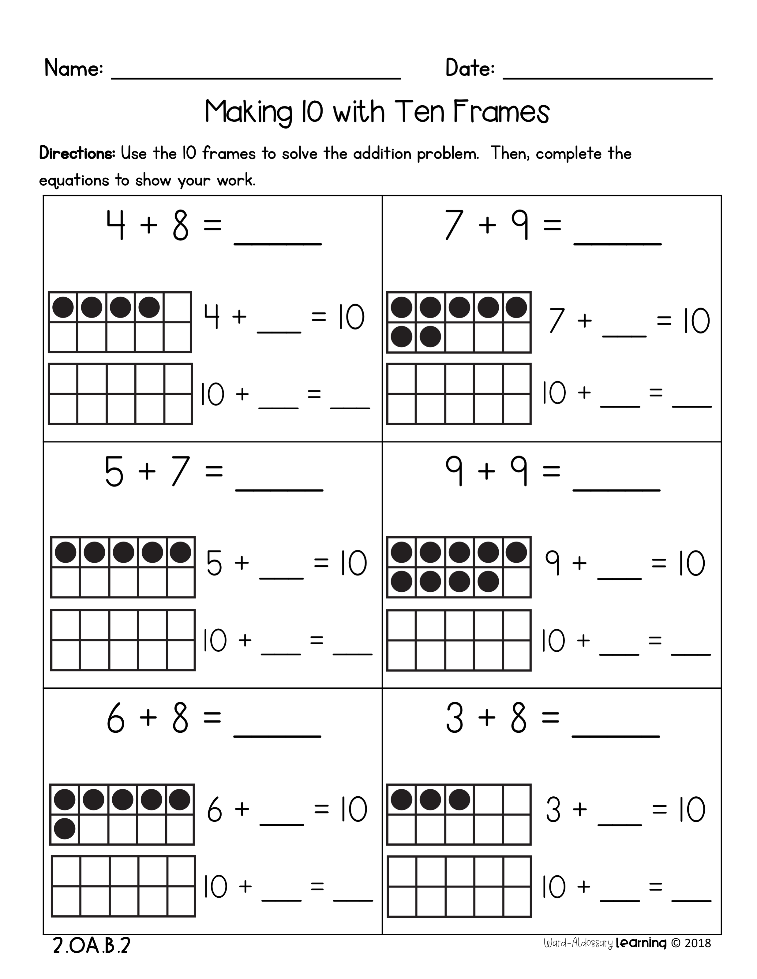 Provide Your Students With More Practice With Developing Fluency Strategies For Addition And Subtraction T Addition And Subtraction Subtraction 2nd Grade Math [ 3200 x 2473 Pixel ]
